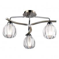 Светильник потолочный N-Light 404-03-13 Chrome + Antique Brass