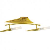 Светильник потолочный N-Light P-808/2 Satin Gold+Gold
