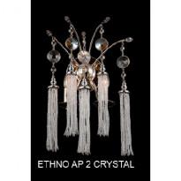Бра Crystal Lux ETHNO AP 2 CRYSTAL