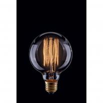Лампа винтажная шар Voltega 220V G80 E27 60W 210Lm 2800К (теплый белый) 5921