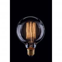 Лампа винтажная шар Voltega 220V G95 E27 60W 210Lm 2800К (теплый белый) 5923