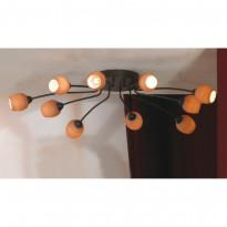 Светильник потолочный Lussole Spilimbergo LSA-3007-10