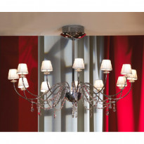Светильник (Люстра) Lussole Frascati LSQ-5703-12