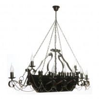 Светильник (Люстра) Аврора Триера 10129-12L