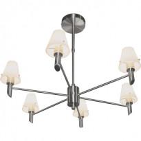 Светильник потолочный N-Light P-796/6 Satin Chrome