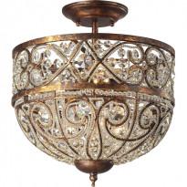 Светильник потолочный N-Light 630-05-03 Spanish Bronze