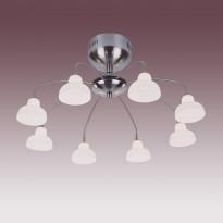 Светильник потолочный N-Light PX-0325/8 Satin Chrome