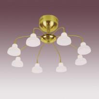 Светильник потолочный N-Light PX-0325/8 Satin Gold