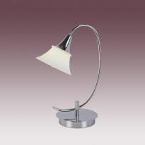 Лампа настольная N-Light TX-0414/1 Satin Chrome