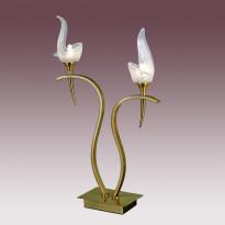 Лампа настольная N-Light TX-0652/2 Antique Brass