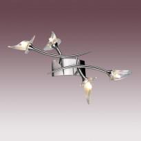 Светильник настенно-потолочный N-Light BX-0653/4 Satin Chrome