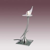 Лампа настольная N-Light TX-0653/1 Satin Chrome