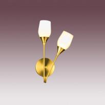 Бра N-Light B-973/2 Satin Gold