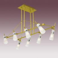 Светильник потолочный N-Light P-493/8 Satin Gold