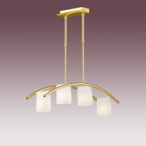 Светильник (Люстра) N-Light P-761/4 Satin Gold