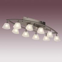 Светильник потолочный N-Light P-799/10 Satin Chrome