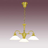 Светильник (Люстра) N-Light P-809/3A Satin Gold