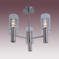 Светильник потолочный N-Light PX-0362/3B Satin Chrome
