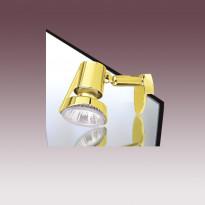 Подсветка для зеркала N-Light S3356BM.MIR Satin Brass