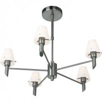 Светильник потолочный N-Light P-796/5 Satin Chrome
