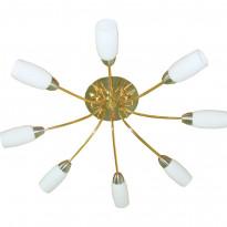 Светильник потолочный N-Light PX-0041/8B French Gold + Satin Chrome