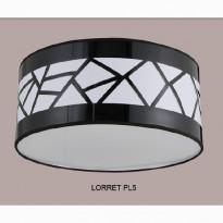 Светильник потолочный Crystal Lux LORRET PL5