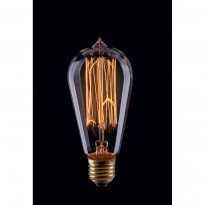 Лампа винтажная колба Voltega 220V E27 40W 150Lm 2800К (теплый белый) 5916