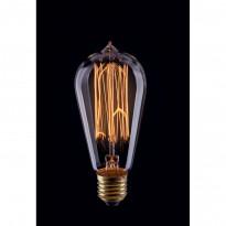 Лампа винтажная колба Voltega 220V E27 60W 210Lm 2800К (теплый белый) 5917