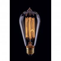 Лампа винтажная колба Voltega 220V E27 40W 150Lm 2800К (теплый белый) 5918