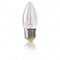 Светодиодная лампа свеча Voltega 220V E27 4W (соответствует 40 Вт) 400Lm 2800K (теплый белый) 4669