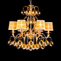 Светильник (Люстра) Arte Monarh A1199LM-6GO