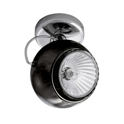 Светильник точечный Lightstar Occhio Fabi Nero 110574