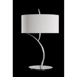 Лампа настольная Mantra Eve Cromo - P. Crema 1137