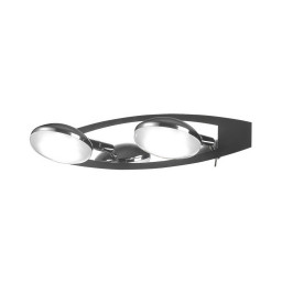 Спот IDLamp Venna 340/2A-Blackchrome