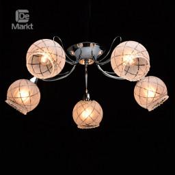 Светильник потолочный DeMarkt Грация 358018405