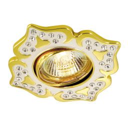 Светильник точечный Novotech Flower 369825