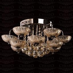 Светильник потолочный Chiaro Эдит 485010615