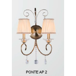 Бра Crystal Lux PONTE AP 2