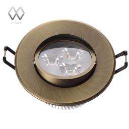 Светильник точечный MW-Light Круз 637012203
