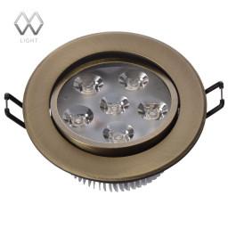 Светильник точечный MW-Light Круз 637013106