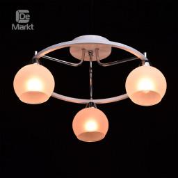Светильник потолочный DeMarkt Тетро 673010103