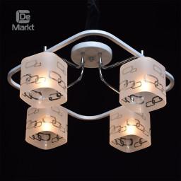 Светильник потолочный DeMarkt Тетро 673010304