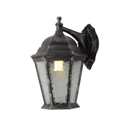 Уличный настенный светильник Arte Genova A1202AL-1BS