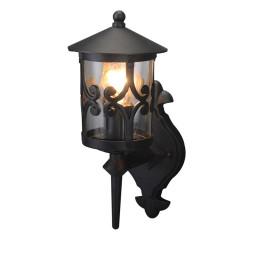 Уличный настенный светильник Arte Persia A1451AL-1BK