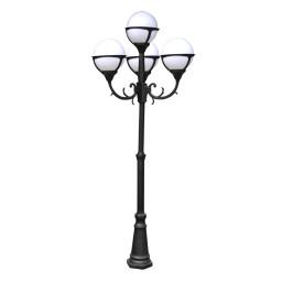 Уличный фонарь Arte Monaco A1497PA-4BK
