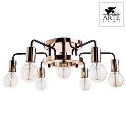 Светильник потолочный Arte Gelo A6001PL-7BK
