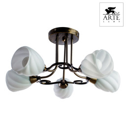 Светильник потолочный Arte Swirls A6253PL-5BA