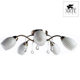 Светильник потолочный Arte Corniolo A9534PL-5AB