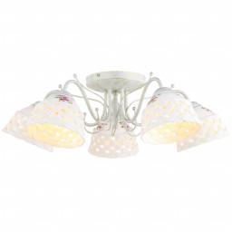 Светильник потолочный Arte Wicker A6616PL-5WG