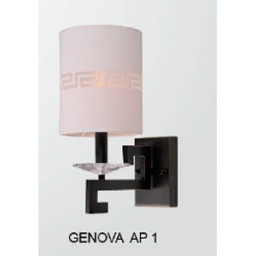 Бра Crystal Lux GENOVA AP 1